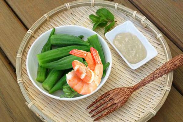Cháo tôm đậu bắp - Cháo ăn dặm bổ dưỡng giúp điều trị táo bón ở trẻ