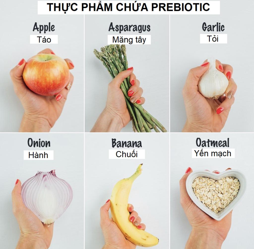 10 nguồn thực phẩm giàu prebiotic bạn nên bổ sung hàng ngày